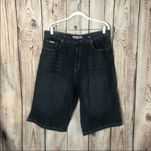 NWT Old Skool Black Denim Shorts